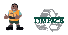 [image] Timpack logo and Tim Timpack